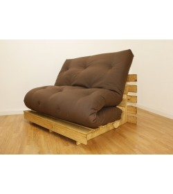 Tri Fold Plus Wool Luxury Futon