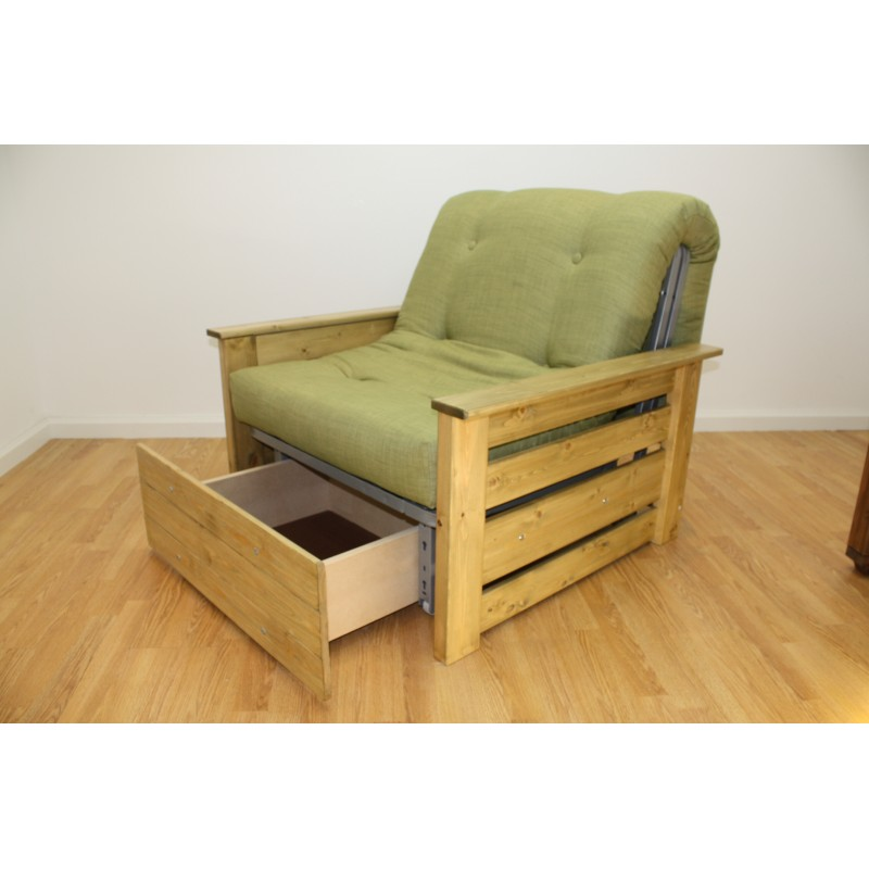 ... Edinburgh Chair Bed + Storage ...