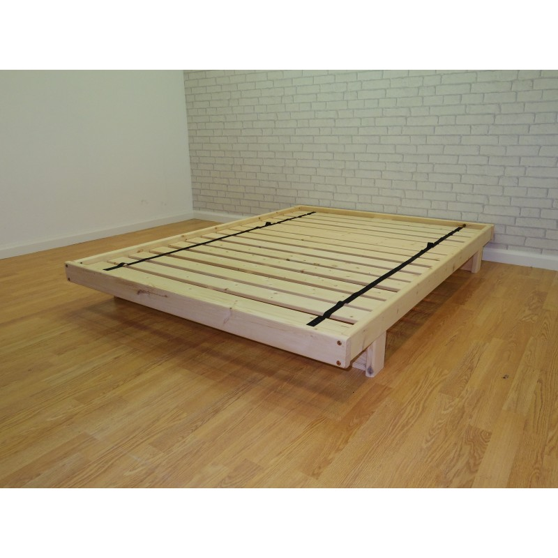 Matsu futon bed base for Low level sofa bed