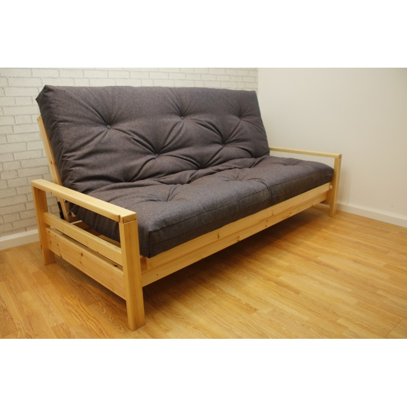 click clack futon delaney futon sofa bed black lk062. Black Bedroom Furniture Sets. Home Design Ideas